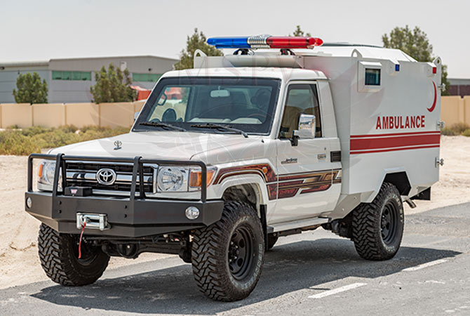 Armoured Ambulance Benin - TLC79