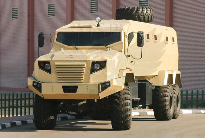 Armoured Personnel Carrier Benin - panthera-6x6-krazz