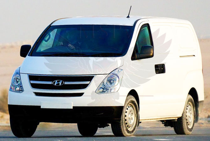 Armoured CIT Vehicle Benin - Hyundai H1