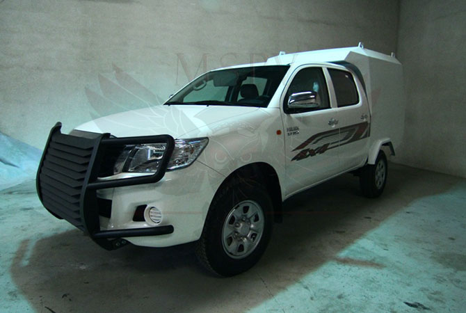 Armoured CIT Vehicle Benin - Toyota Hilux