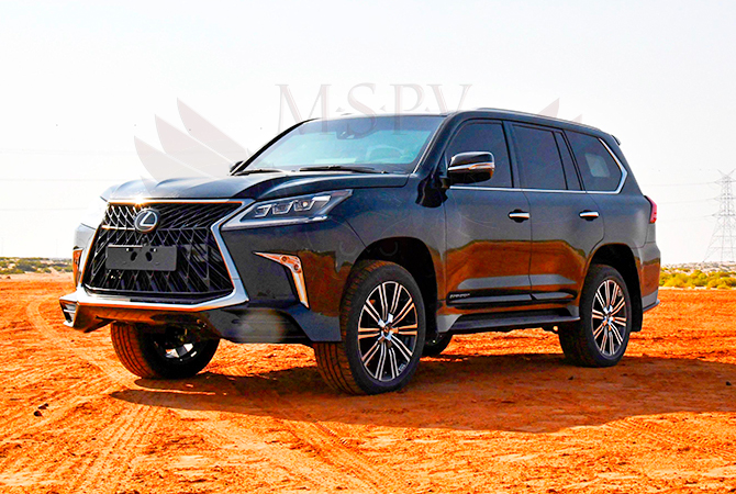 Armoured Vehicle Benin - Lexus LX570