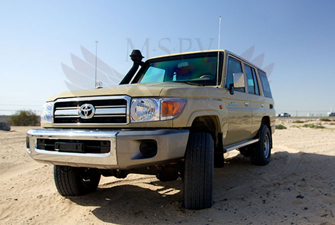Armoured Toyota Land Cruiser 76 Benin