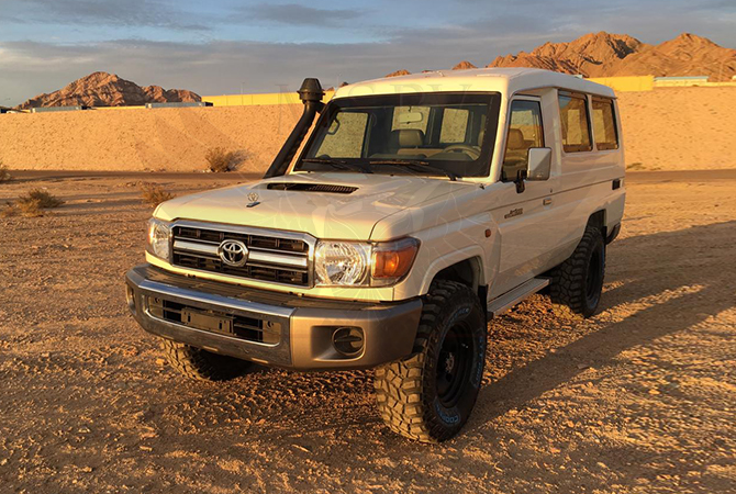 Armoured Toyota Land Cruiser 78 Benin