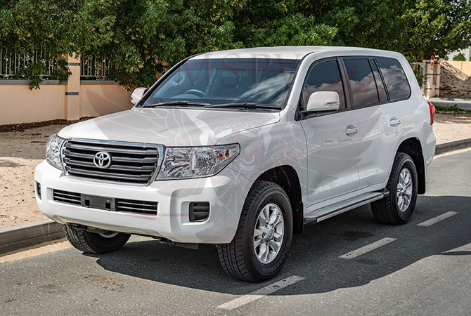 Armoured Toyota Land Cruiser RHD Benin