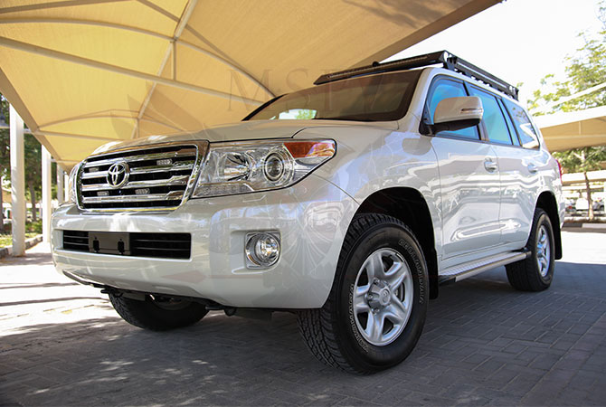 Armoured Toyota Land Cruiser VIP Luxury Benin