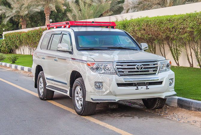 Armoured Toyota Land Cruiser Benin