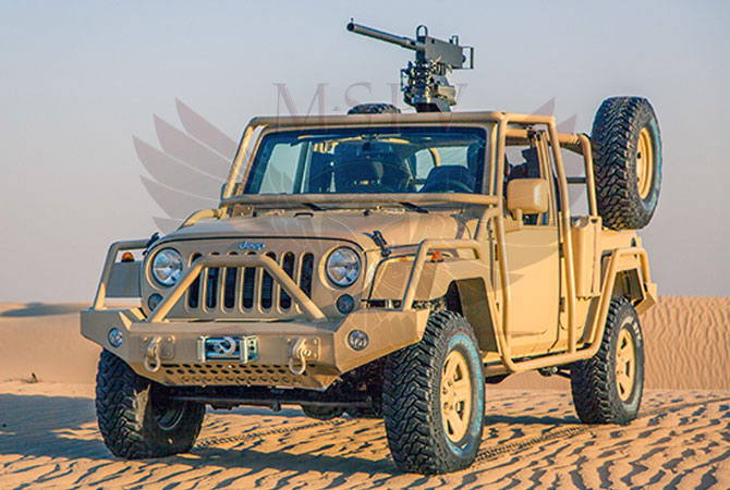 Light Patrol Vehicle Benin - Jeep Wrangler