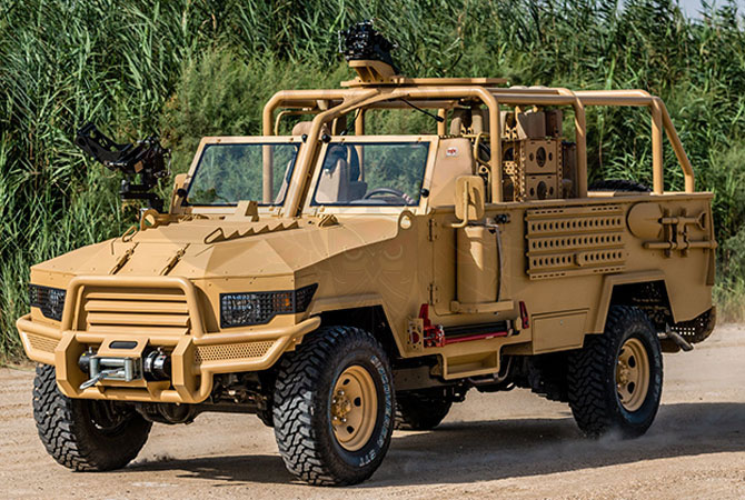 Light Patrol Vehicle Benin - lpv-t-mkII