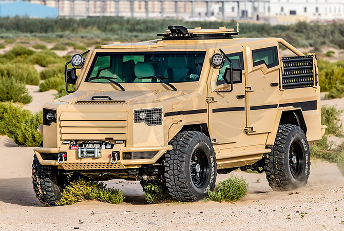 Armoured Patrol Vehicles Benin - Panthera T2V8