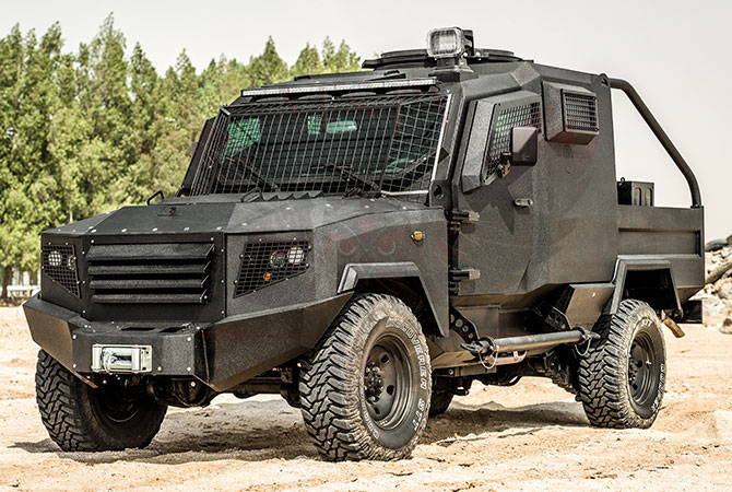 Armoured Patrol Vehicle Benin - panthera-t2