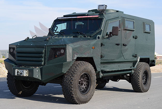 Armoured Patrol Vehicle Benin - panthera-t6-5Dr