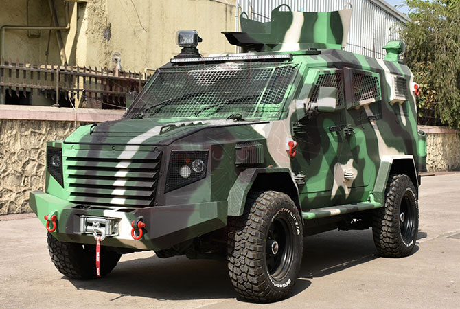 Armoured Personnel Carrier Benin - Panthera T6F