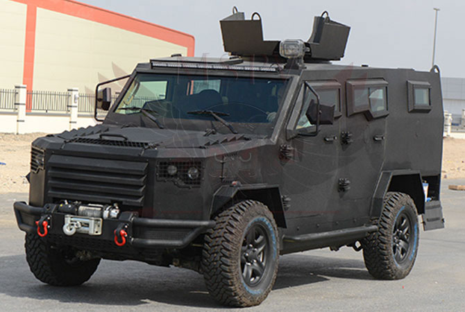 Armoured Patrol Vehicle Benin - panthera-t6-v8