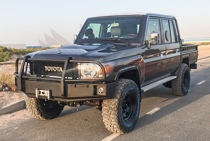 Armoured Toyota Land Cruiser 79 Benin