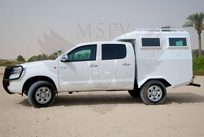 Armoured Troop Carrier Benin - Toyota Hilux