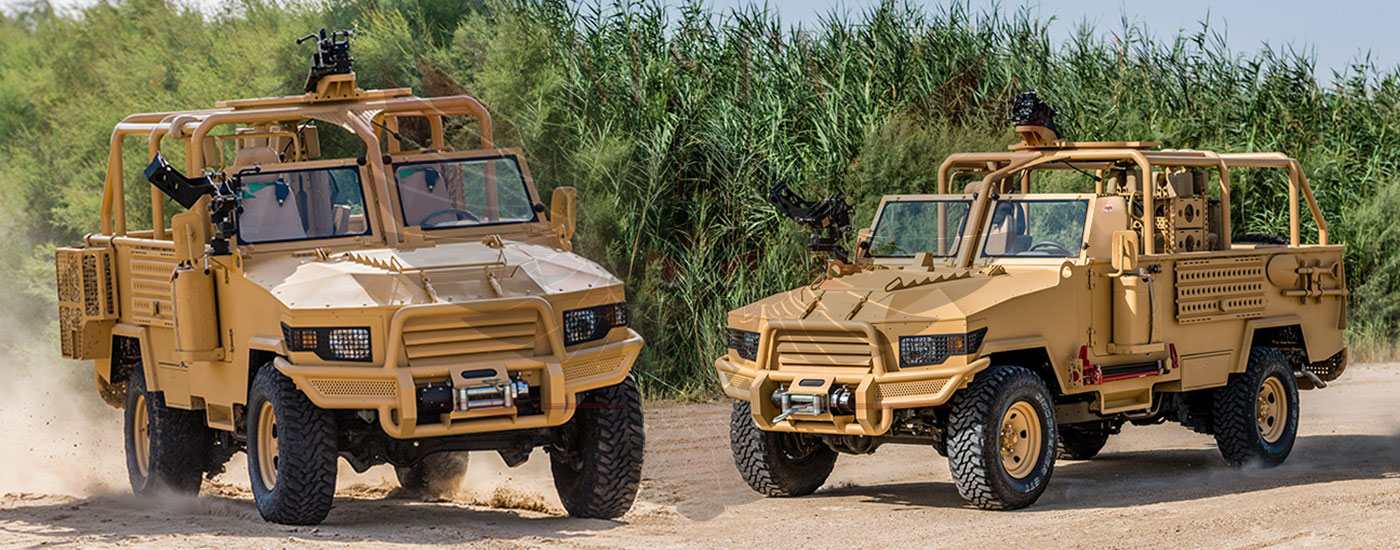 Armoured Light Patrol Vehicles Benin - LPV-T MKII